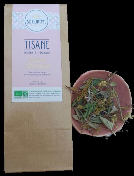 Tisane bio Divine Aphrodite So Bohème cosmétiques