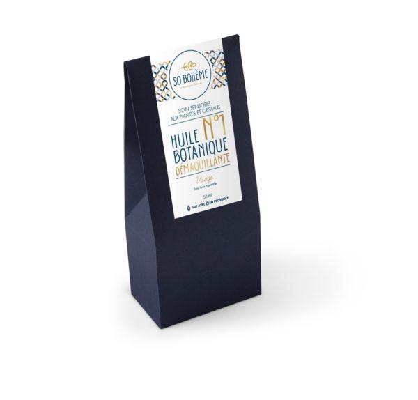 Packaging Huile démaquillante n°1