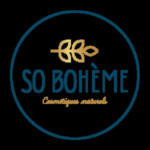 Logo rond So Bohème cosmétiques