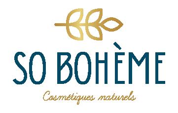 Logo rectangulaire So Bohème Cosmétiques
