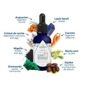 Elixir botanique n°2 peaux mixtes, grasses, normales, à imperfections
