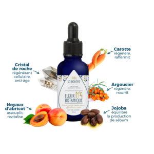 Elixir botanique n°4 avec ingrédients