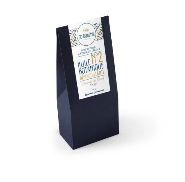 Packaging Huile démaquillante n°2