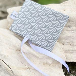 Pochette en tissu enduit pour savon