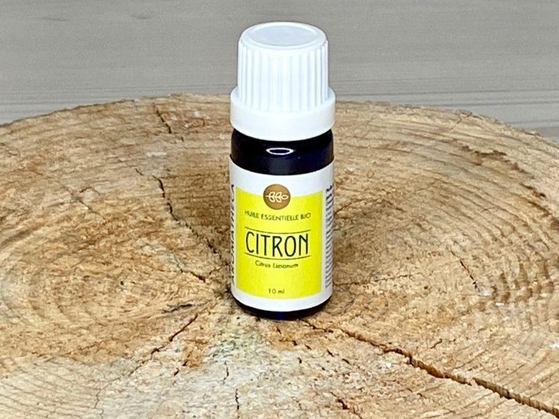 Huile essentielle bio citron
