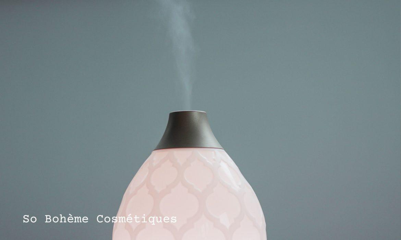 Article de blog sur la diffusion des huiles essentielles